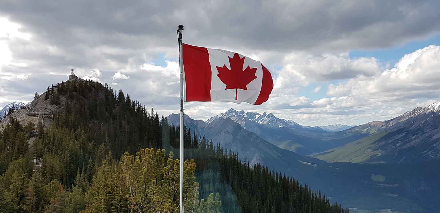 Slider - Canadian Flag