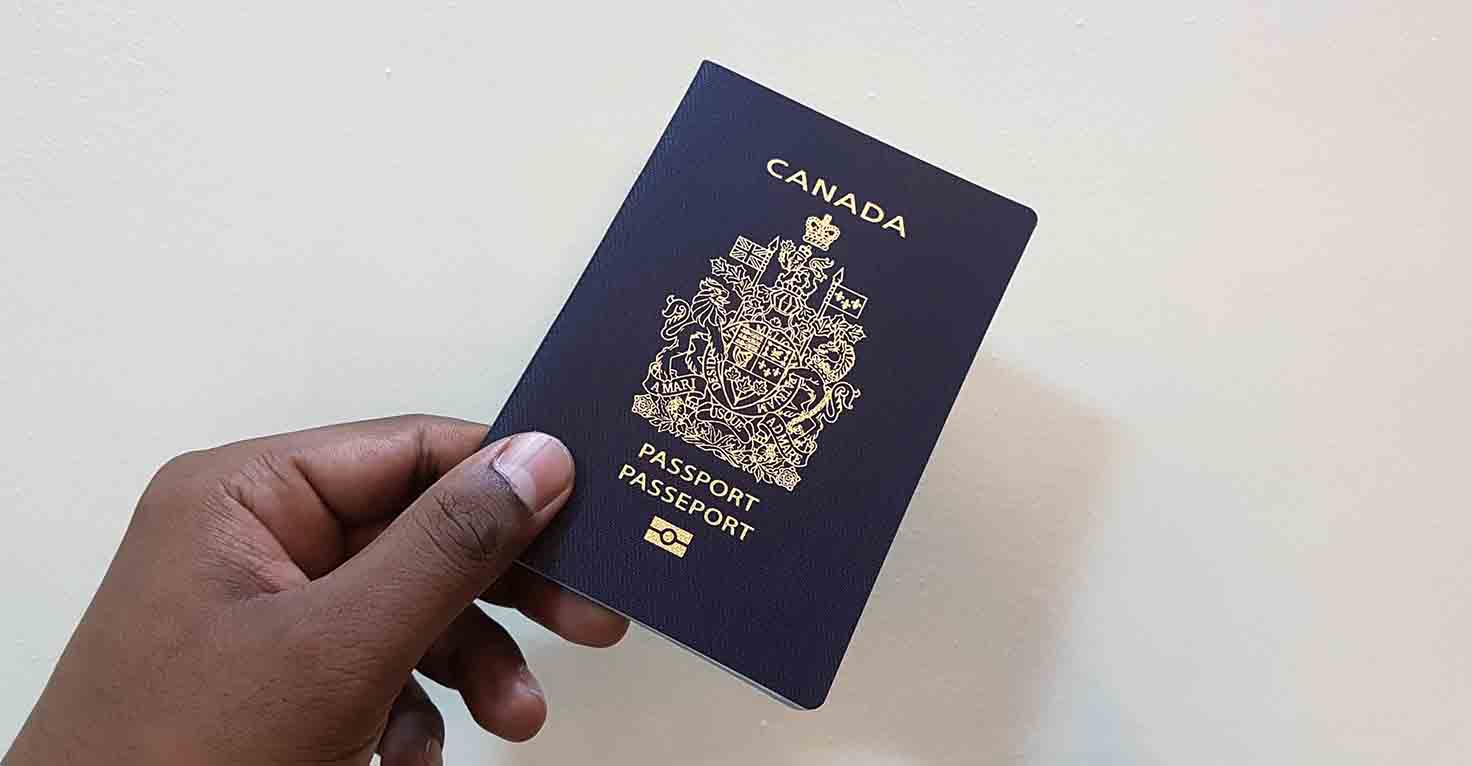 Slider - Canadian Passport